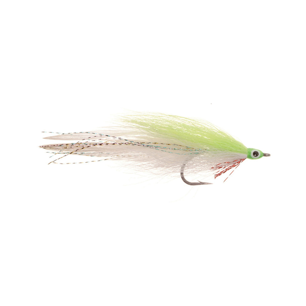 Lefty's Deceiver - Chartreuse/White