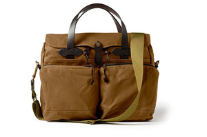Filson 24 Hour Tin Briefcase Tan  - 1
