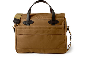 Filson 24 Hour Tin Briefcase Tan  - 4