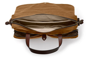 Filson 24 Hour Tin Briefcase Tan  - 2
