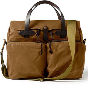 Filson 24 Hour Tin Briefcase Tan
