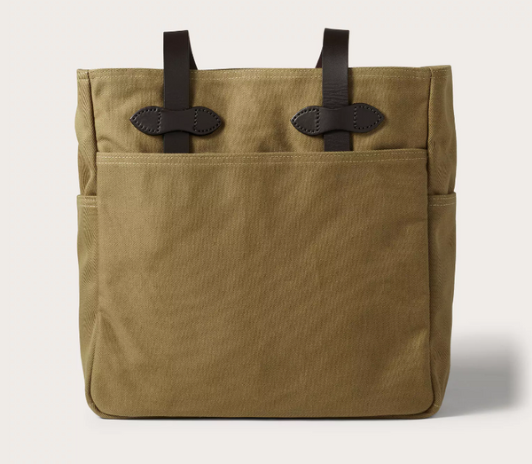 Filson Tote Bag, Tan, No Zipper
