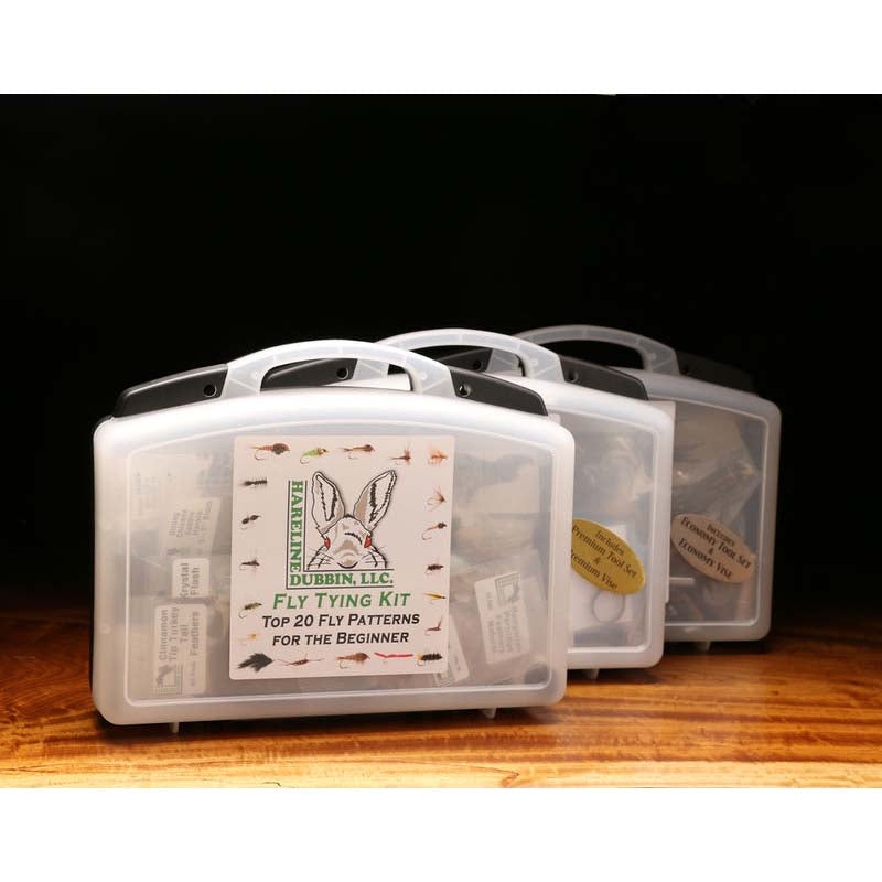Hareline Fly Tying Kit - Tools Included