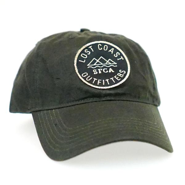 best loved a347c a43a1 LCO Waxed Canvas Badge Hat - Loden – Lost Coast Outfitters