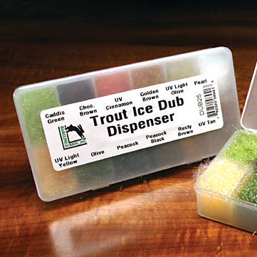 Trout Ice Dub Dispenser