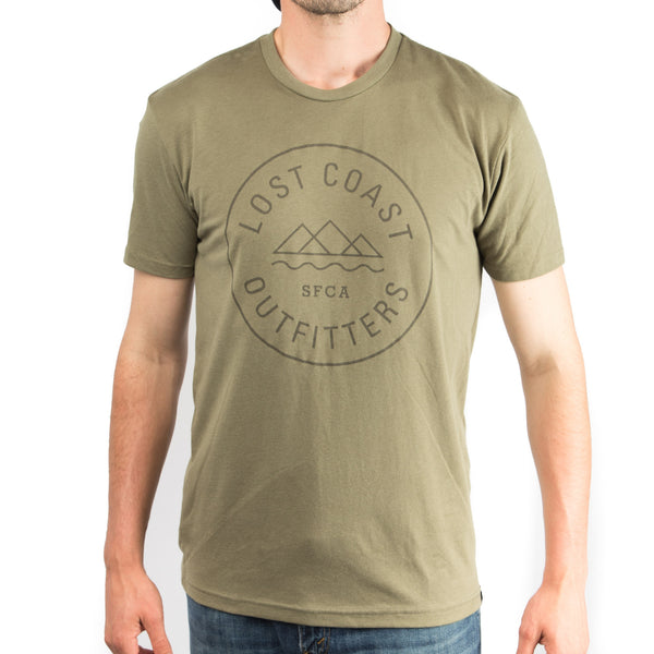 LCO Badge Drab Olive