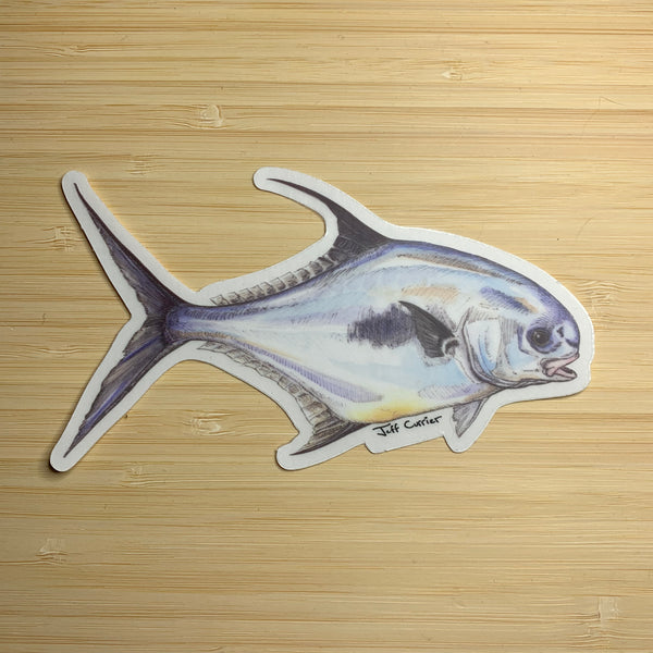 Jeff Courrier Fish Sticker
