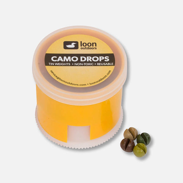 Loon Camo Twist Pot Split Shot