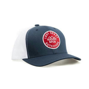 Lost Coast Outfitters Trucker Cap - Red White Blue