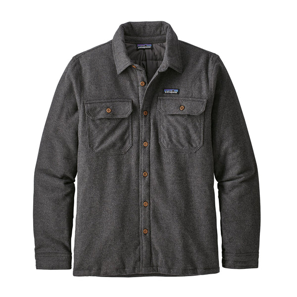 Patagonia Insulated Fjord Flannel, Forge Grey