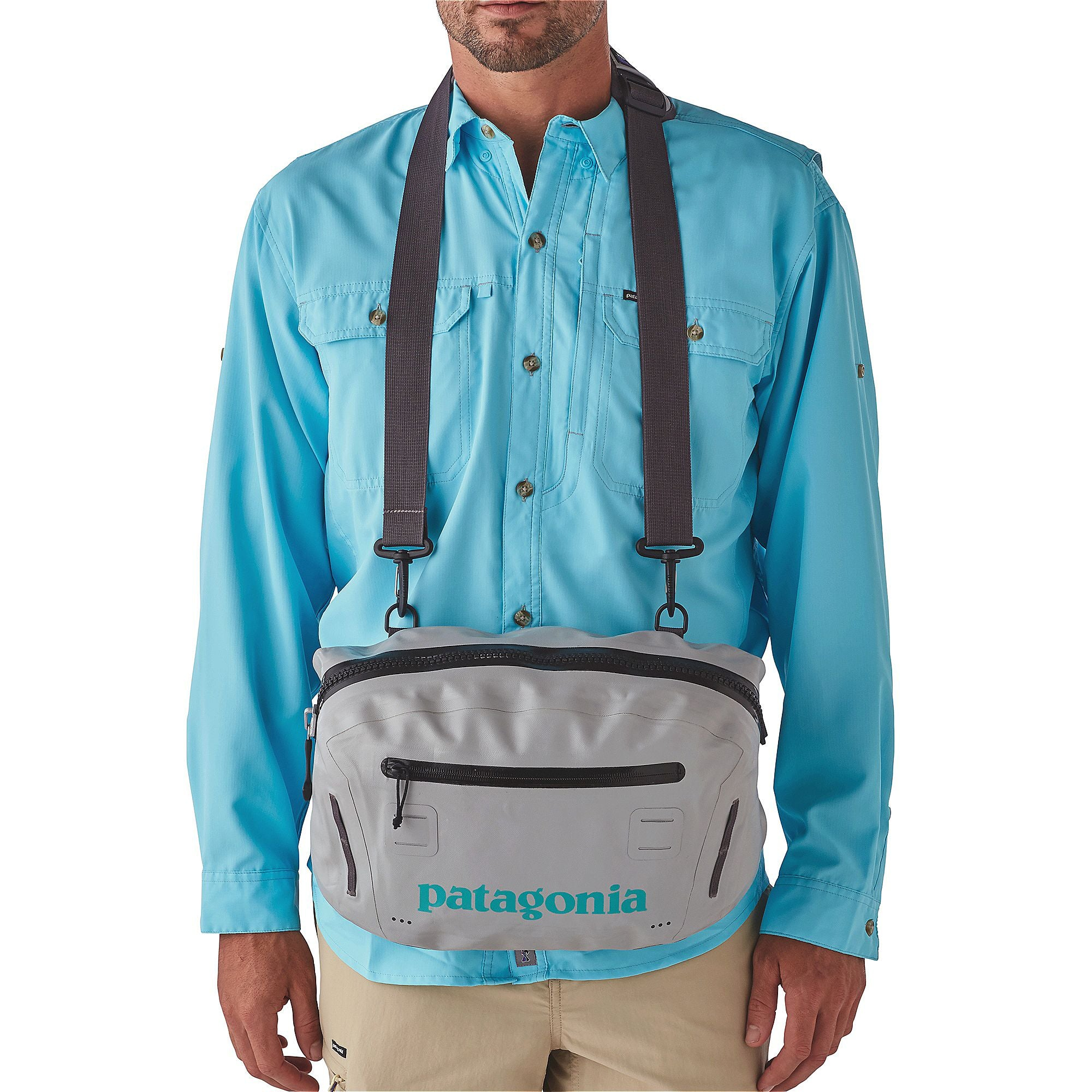 47b56500c29 Patagonia Stormfront Hip Pack, Grey - Lost Coast Outfitters
