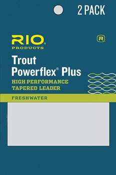 Rio Powerflex Plus Tapered Leader 2-Pack