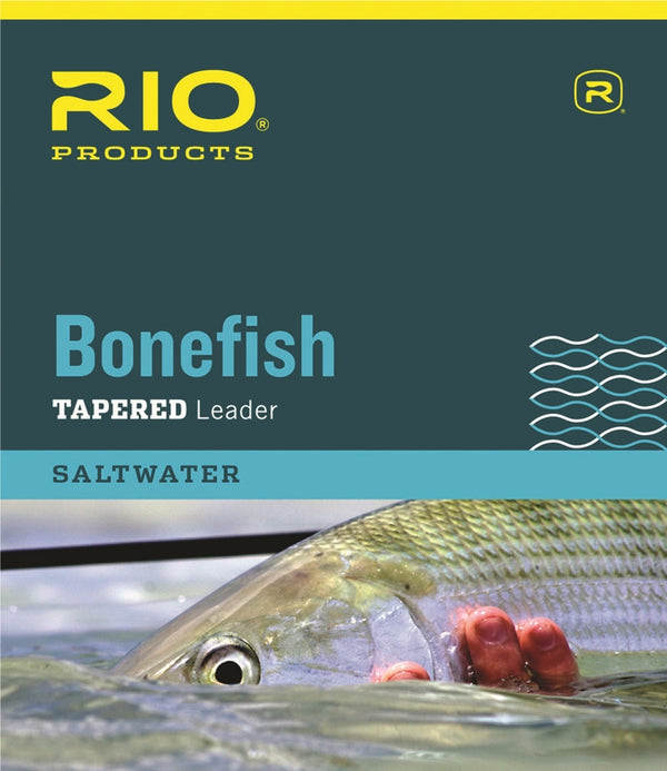 Rio Bonefish Tapered Leaders - 3 Pack