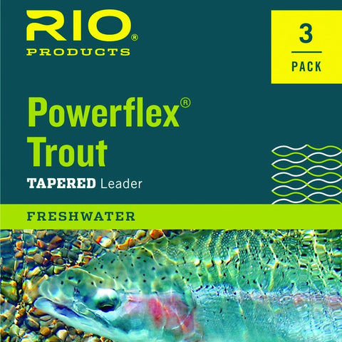 Rio Powerflex Tapered Leader 3-Pack