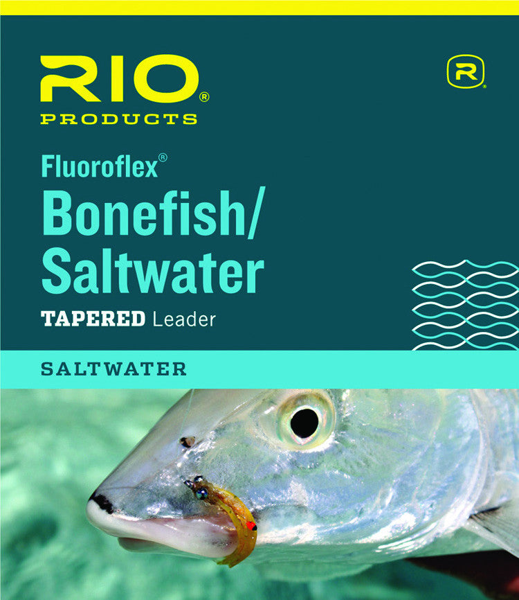 Rio Bonefish/Saltwater Fluoroflex Tapered Leaders