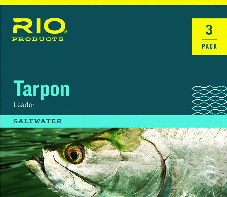 Rio Tarpon Leaders - 3 Pack