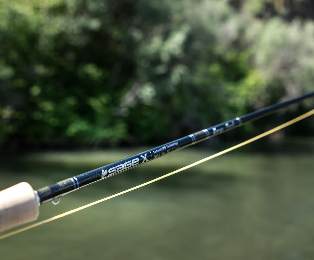 Sage X 590-4 9' 5wt Fly Rod  - 3