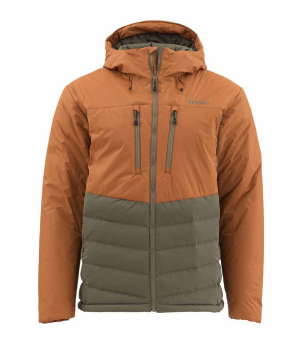 Simms West Fork Jacket - Saddle Brown