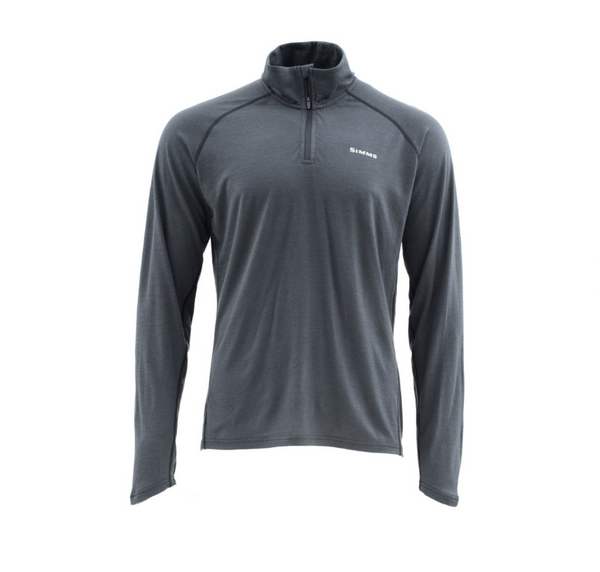 Simms Ultra-Wool 1/4 zip Core Top