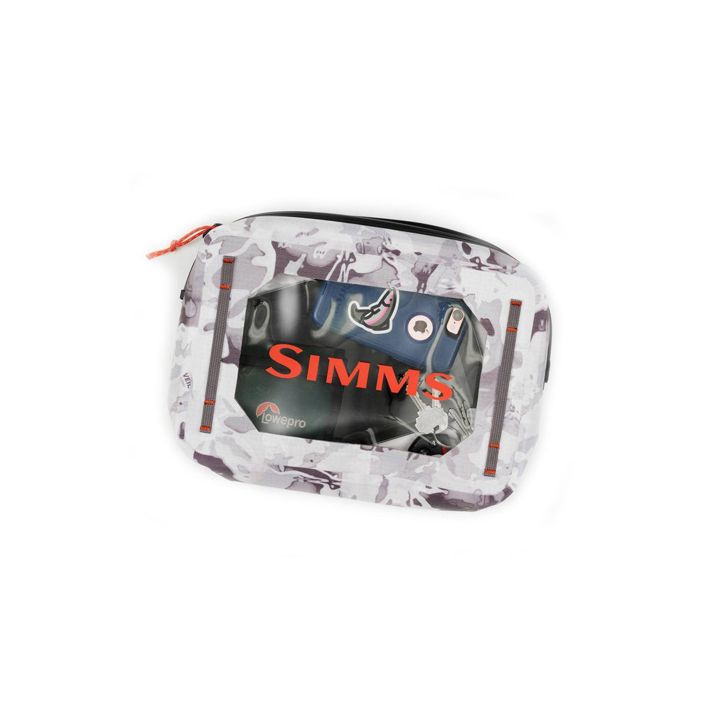 Simms Dry Creek Pouch 4L Cloud Camo