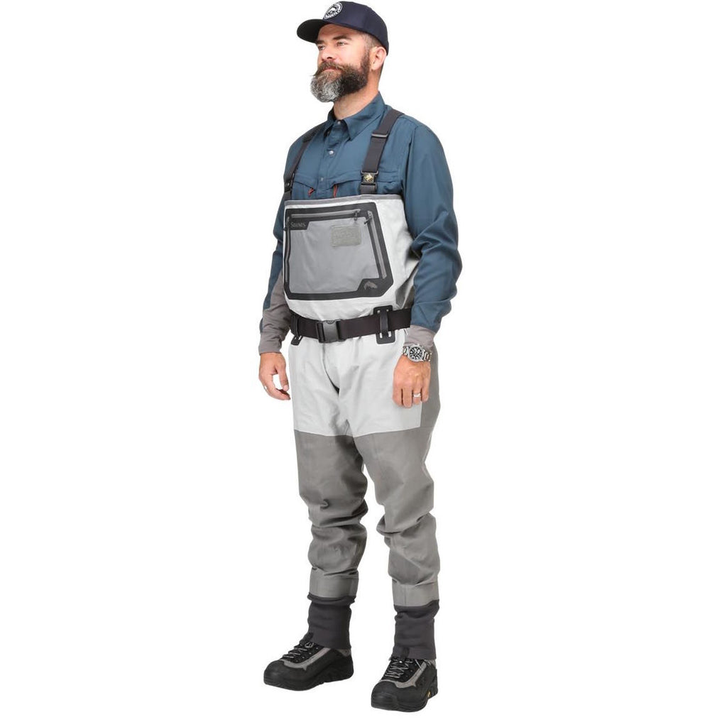 Simms G3 Guide Waders - Stockingfoot - Cinder