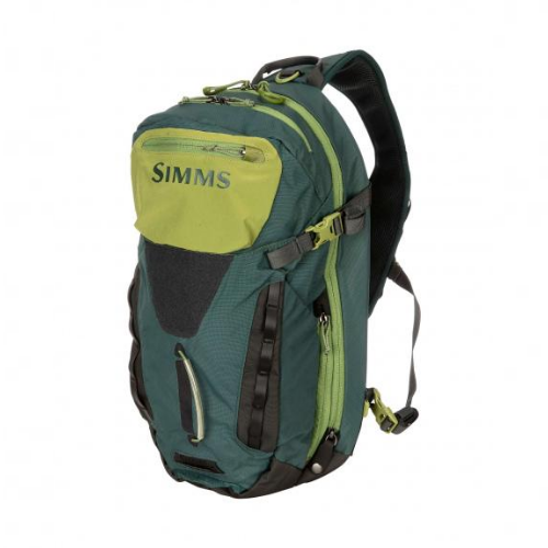Simms Freestone Ambidextrous Sling Pack, Shadow Green