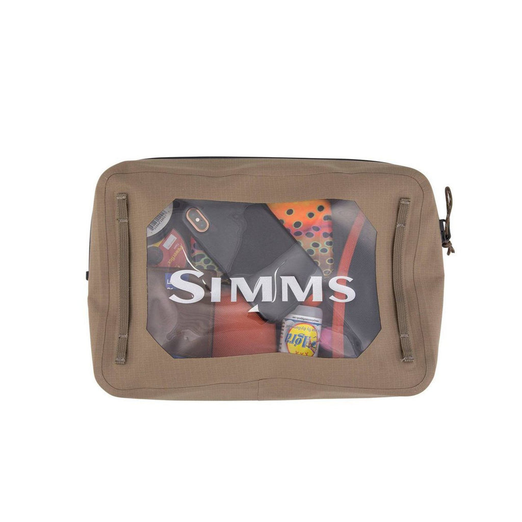 Simms Dry Creek Pouch 4L Tan