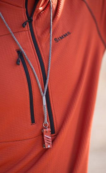 Simms Guide Lanyard Orange