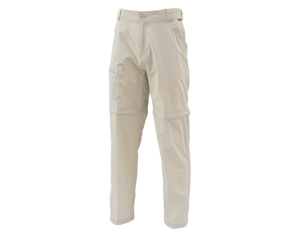 Simms Superlight Zip Off Pant, Oyster