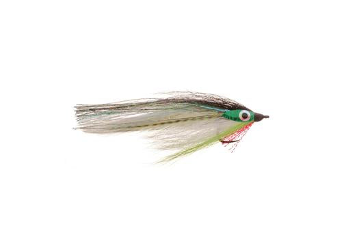 Big Eye Baitfish - Chartreuse - 2/0