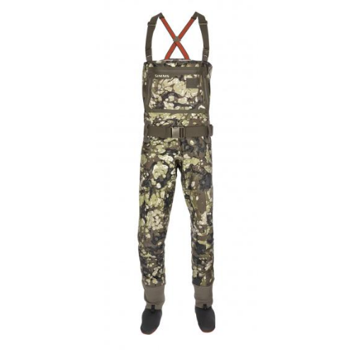 Simms G3 Stockingfoot Waders, Riparian Camo