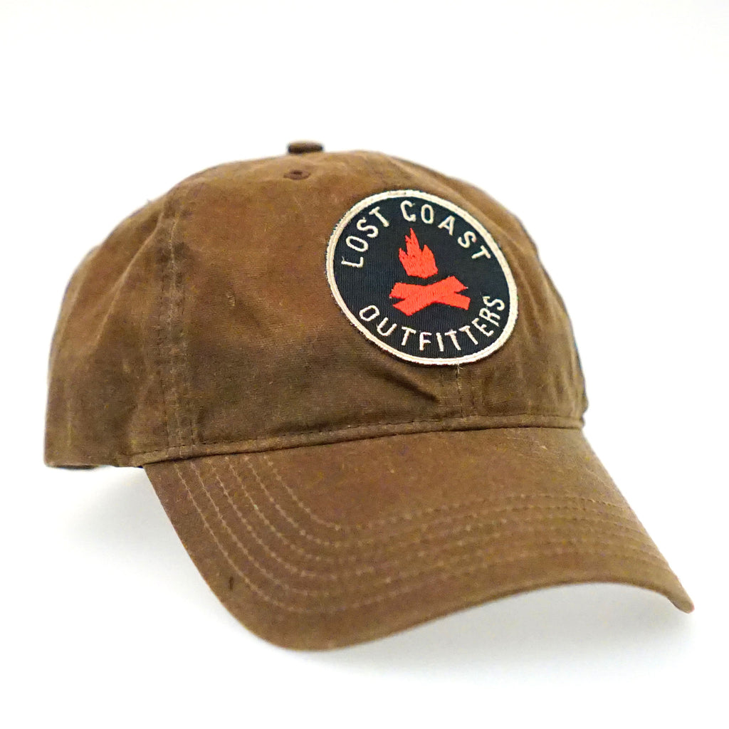 LCO Waxed Canvas Campfire Hat - Brown