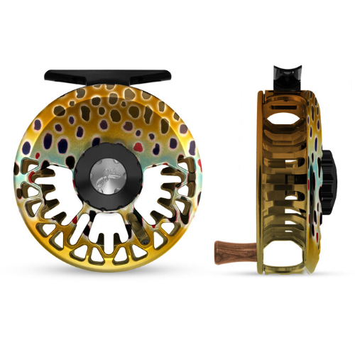 Abel VAYA Fly Reel - Brown Trout
