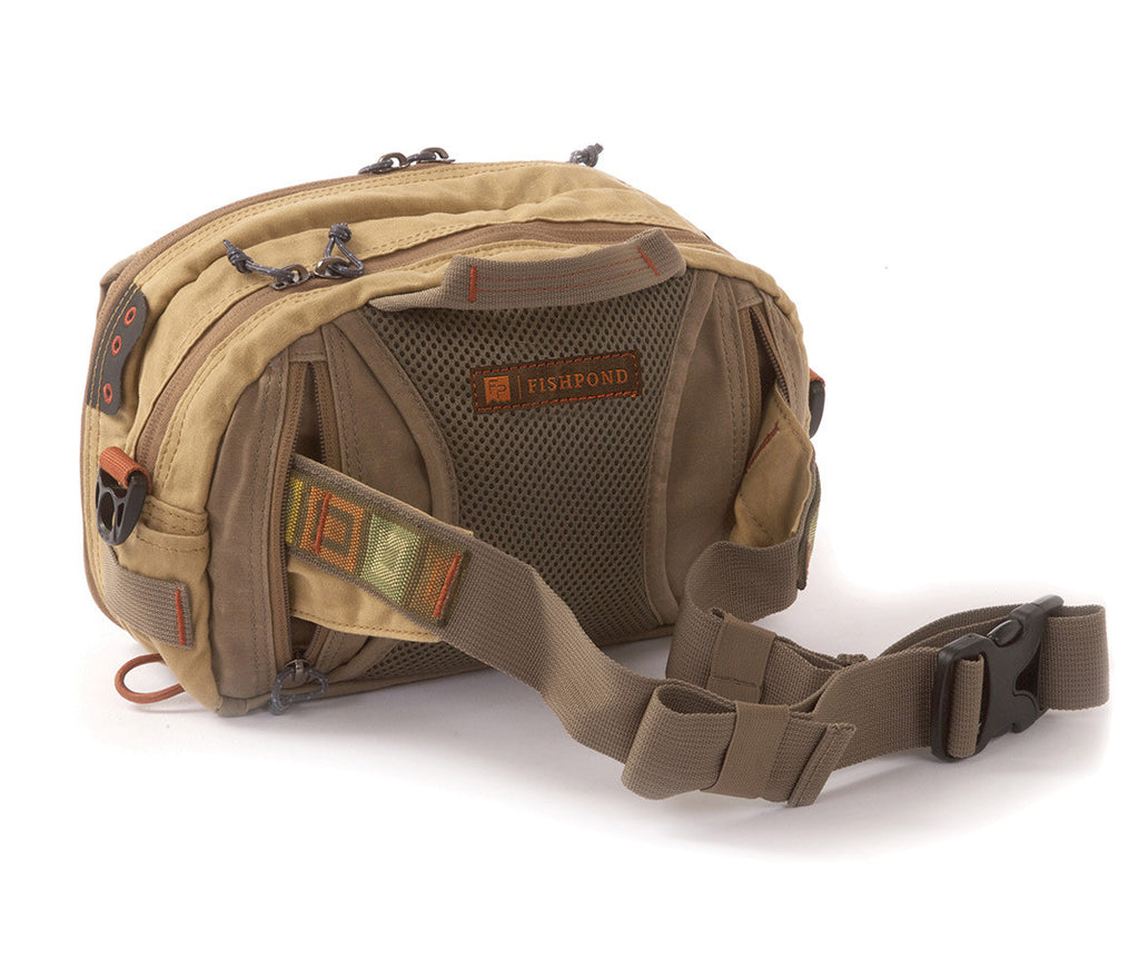 Fishpond Blue River Chest Lumbar Pack - Waxed Canvas  - 2