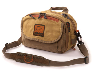 Fishpond Blue River Chest Lumbar Pack - Waxed Canvas  - 1