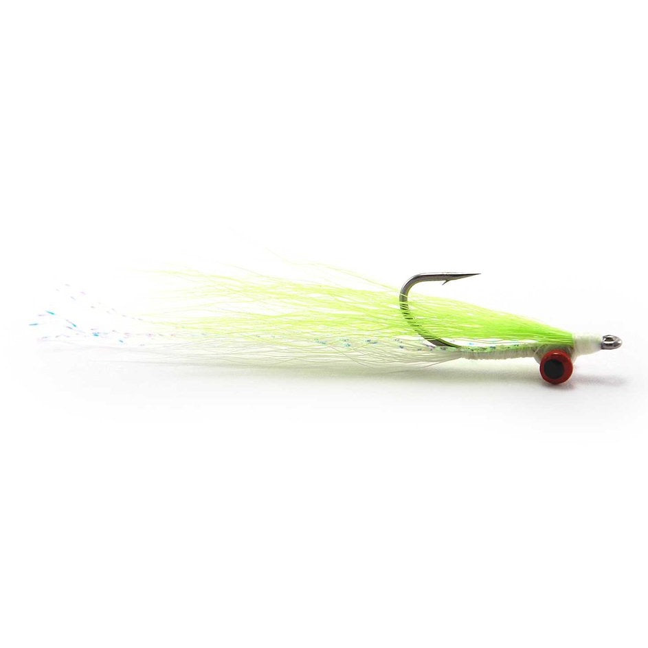 Clouser Minnow - Chart/White