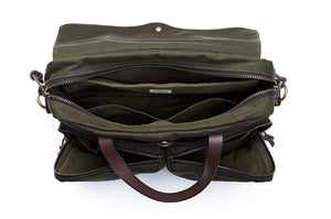Filson 72 Hour Briefcase Otter Green  - 2