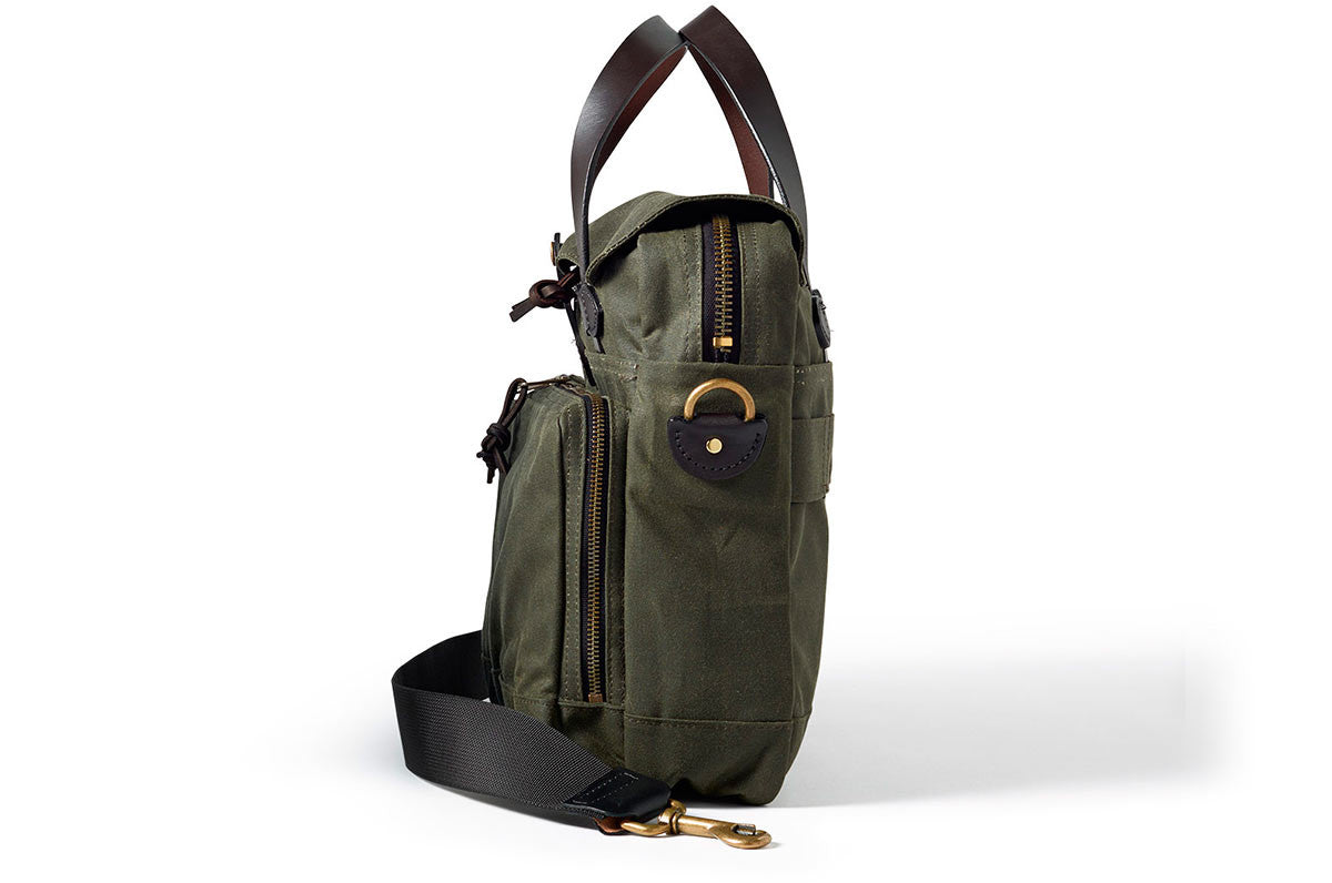 7fa94f9a81 Filson 72 Hour Briefcase Otter Green - 3