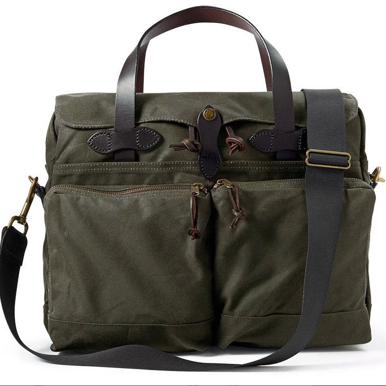 37e51fafe4 Filson 24 Hour Tin Briefcase Otter Green - Lost Coast Outfitters