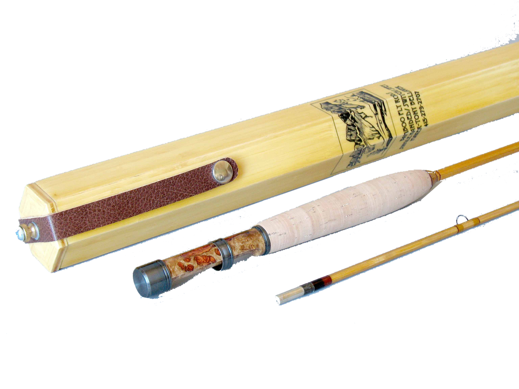 Alpenglow Peerless 5wt Bamboo Fly Rod  - 1