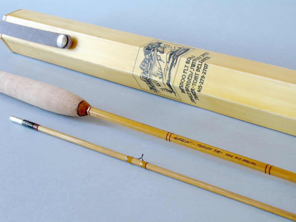 Alpenglow Peerless 5wt Bamboo Fly Rod  - 4
