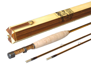 Alpenglow Peerless 5wt Deluxe Bamboo Fly Rod  - 1