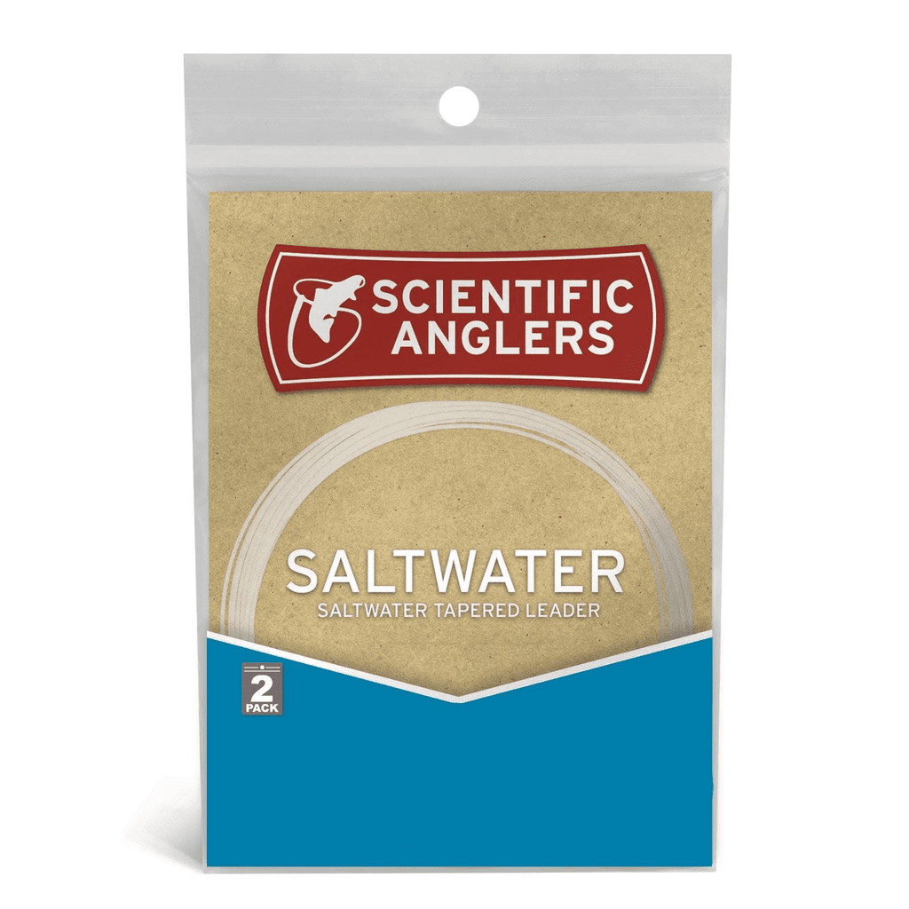 Scientific Anglers Saltwater Leaders - 12' - 2 Pack