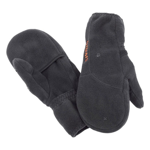 Simms Headwaters Foldover Mitt - Black