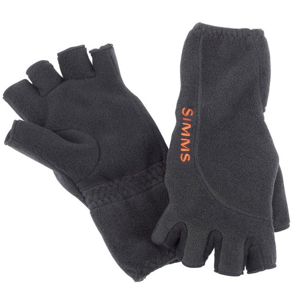 Simms Headwaters Half Finger Glove - Black
