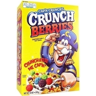 US Cap'n Crunch's Crunch Berries Cereal 370g