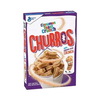US Cinnamon Toast Crunch Churros Cereal 337g