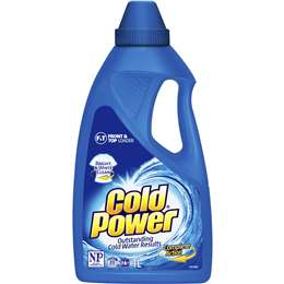 Cold Power Regular Front & Top Loader Laundry Liquid 1L