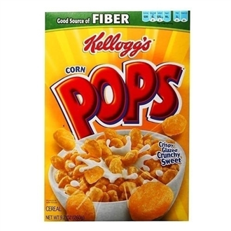 US Kellogg's Corn Pops Cereal 260g