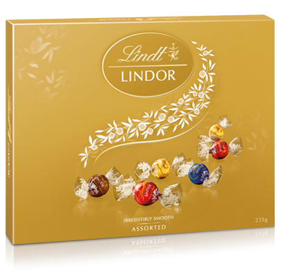 Lindt Lindor Assorted Chocolate Gift Box 235g